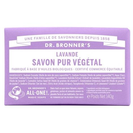 DR. BRONNER'S - Savon solide 18en1 Lavande