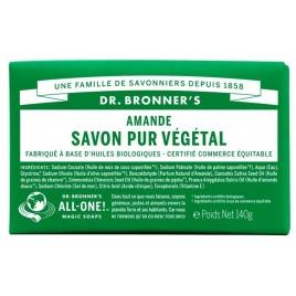 DR. BRONNER'S - Savon solide 18en1 Amande